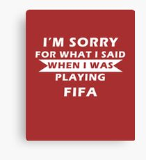 FIFA Canvas Print