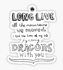 Long Live Sticker