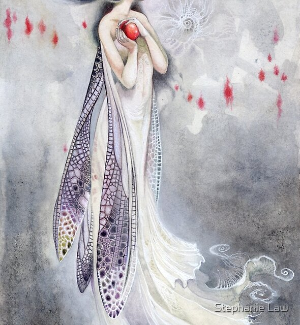 Sylph dragonfly fairy  by Stephanie Law