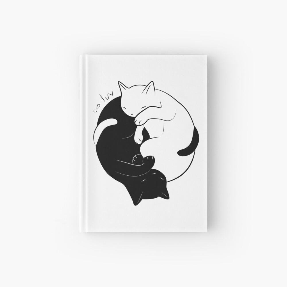 Eternal Cat Love Cuaderno de tapa dura