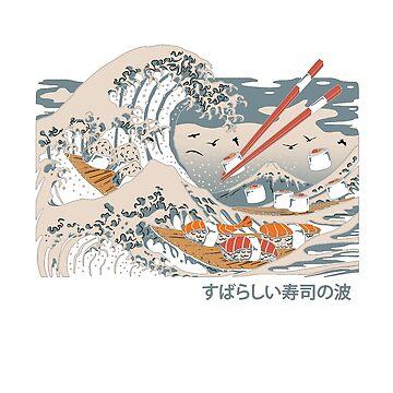«vague de sushi» par peppefrpep