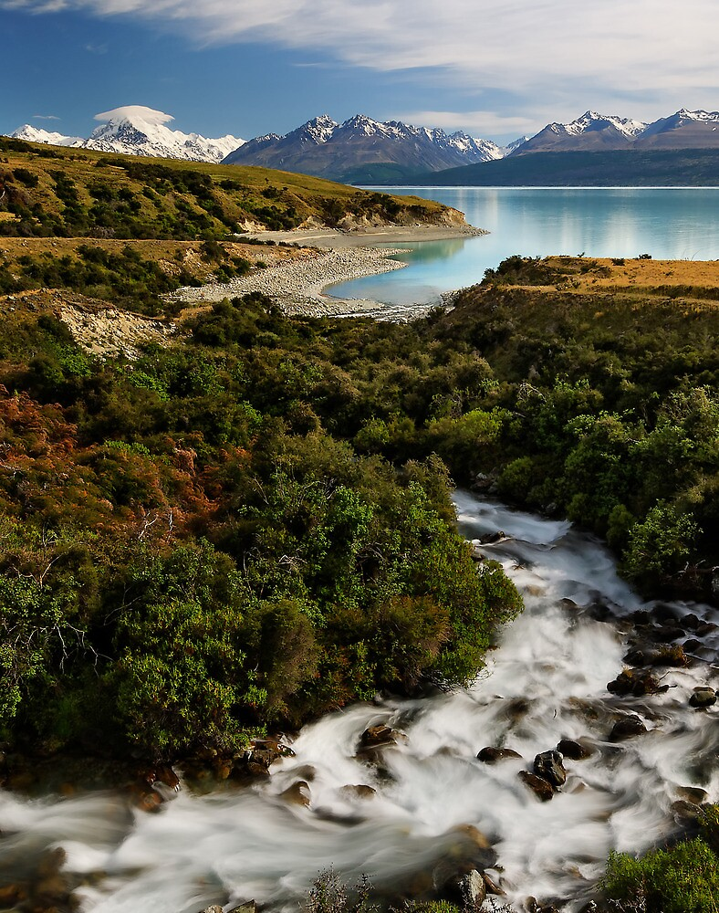 Pukaki Views by Robert Mullner