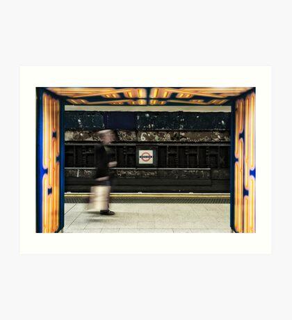 Leicester Square Tube Station Art Print