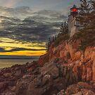 Bass Harbor Head Lighthouse, Acadia National Park, Bar Harbor, Maine by charlie murray