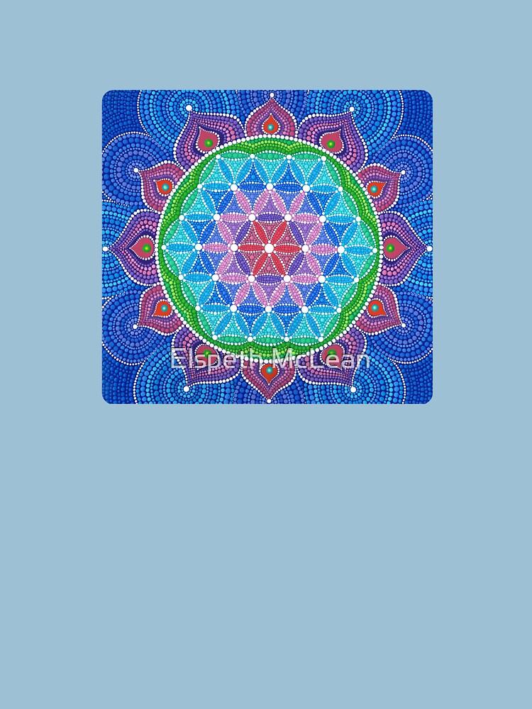 Lotus Flower of Life by ElspethMcLean