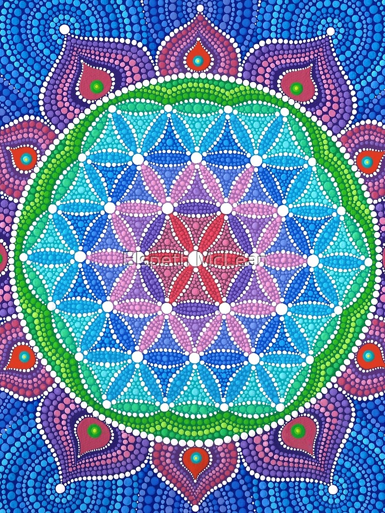 Lotus Flower of Life by ElspethMcLean