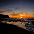 Turimetta Sunrise by Jason Hilsdon