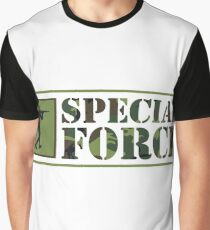 Special Forces Special Forces Elite Military Soldier Bundeswehr Camouflage Gift Graphic T-Shirt