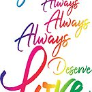 You Deserve Love by Renee Rigdon