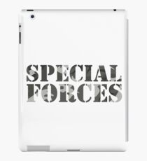 Special Forces Special Forces Elite Military Soldier Bundeswehr Camouflage Gift iPad Case/Skin