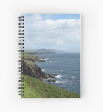 Coastline of Ireland Spiral Notebook