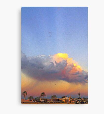 Rain Cloud Over Fremantle  Canvas Print