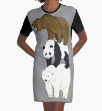 Stack Graphic T-Shirt Dress