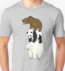 Camiseta unisex We Bare Bears