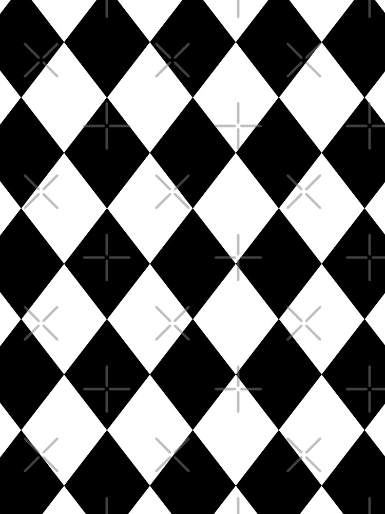 Harlequin - tiles pattern - Keep Your Shirt Alive! by TMBTM