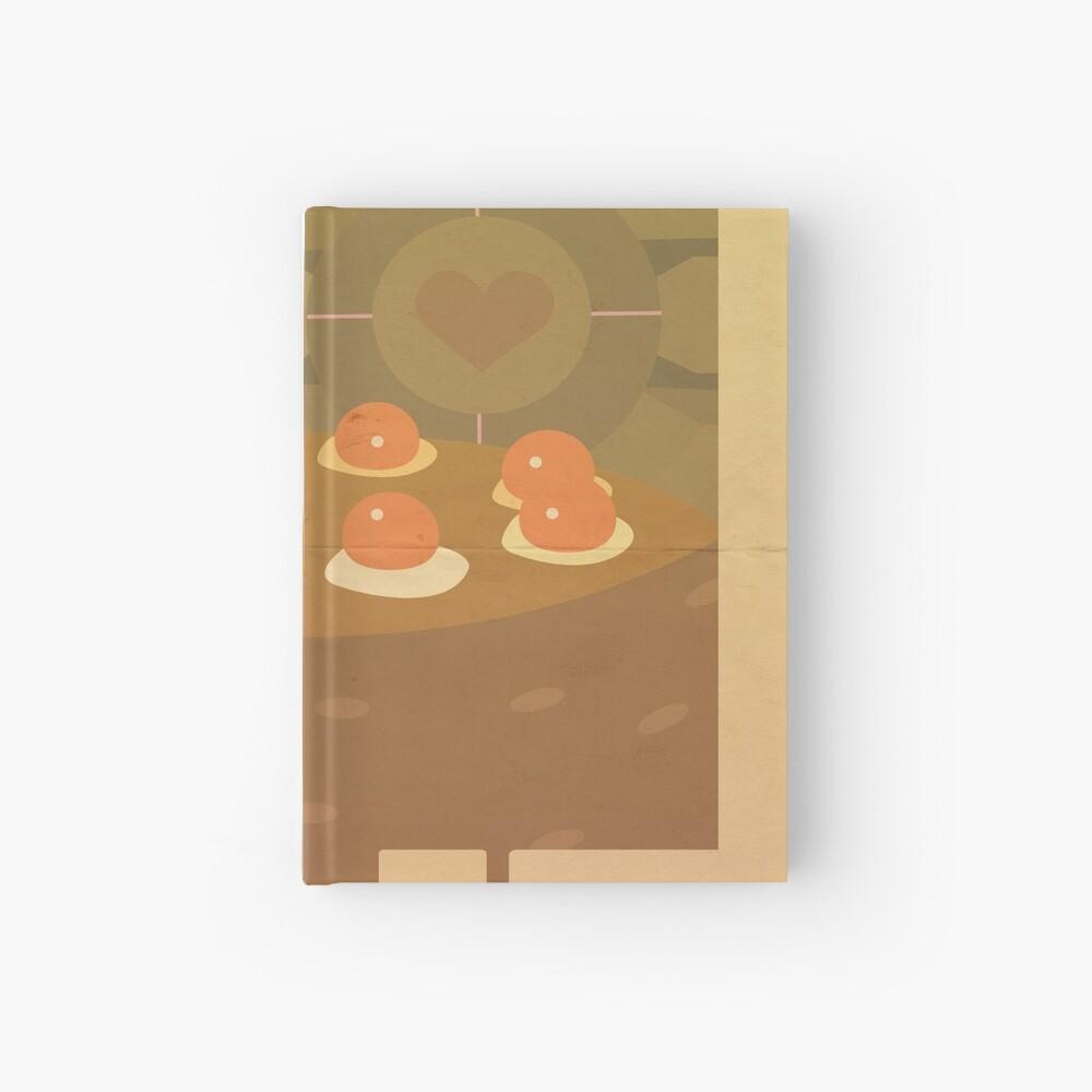 Portal Propaganda Poster - Kuchen Notizbuch