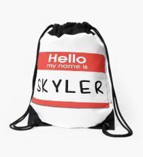Skyler - Hello My Name is Skyler Drawstring Bag