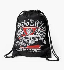 Hot Rod Monkey Drawstring Bag