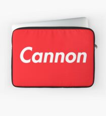 Hello My Name Is Cannon Name Tag Laptop Sleeve