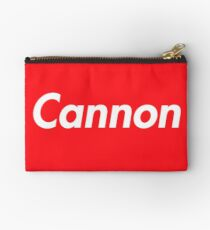 Hello My Name Is Cannon Name Tag Studio Pouch