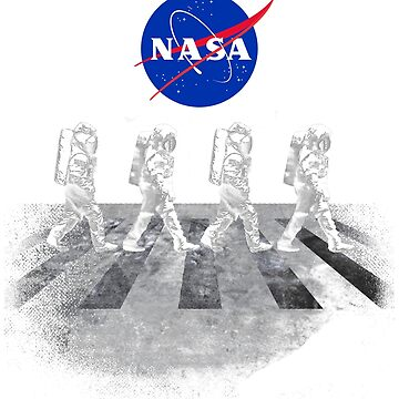 NASA T-Shirt Walking Astronauts in Space by BuzzArtGraphics