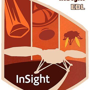 InSight Landing Team Logo by Quatrosales