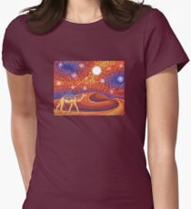 Go Find Adventure Womens Fitted T-Shirt