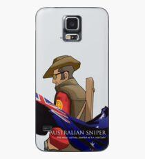 Funda/vinilo para Samsung Galaxy Sniper australiano