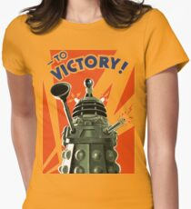 Dalek Victory Women's Fitted T-Shirt