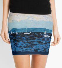Howth Head and Dublin Bay Mini Skirt