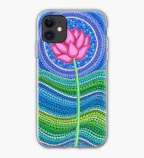 Lotus Growing iPhone Case