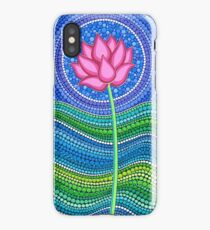 Lotus Growing iPhone Case