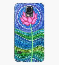 Lotus Growing Hülle & Klebefolie für Samsung Galaxy