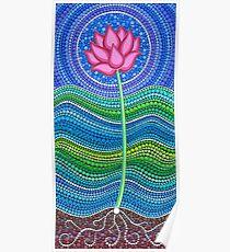 Lotus Growing Poster