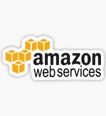 Amazon Web Services (AWS) Logo Sticker Sticker
