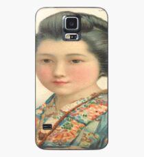 The Stunning Geisha Girl Case/Skin for Samsung Galaxy
