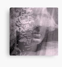 Lady Lace - JUSTART ©  Canvas Print