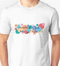 Alles wird gut / Falsettos Dots Slim Fit T-Shirt