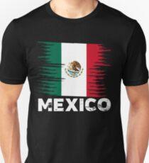 Mexico - Mexican Flag Art | Sports Soccer Football Gift Unisex T-Shirt