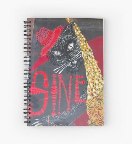 Sine Spiral Notebook