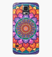 Lotus Rainbow Mandala Case/Skin for Samsung Galaxy