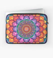 Lotus Rainbow Mandala Laptoptasche