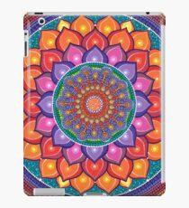 Lotus Rainbow Mandala iPad-Hülle & Klebefolie