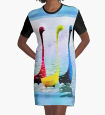 The Loch Ness Ladles Are Coming!! Graphic T-Shirt Dress