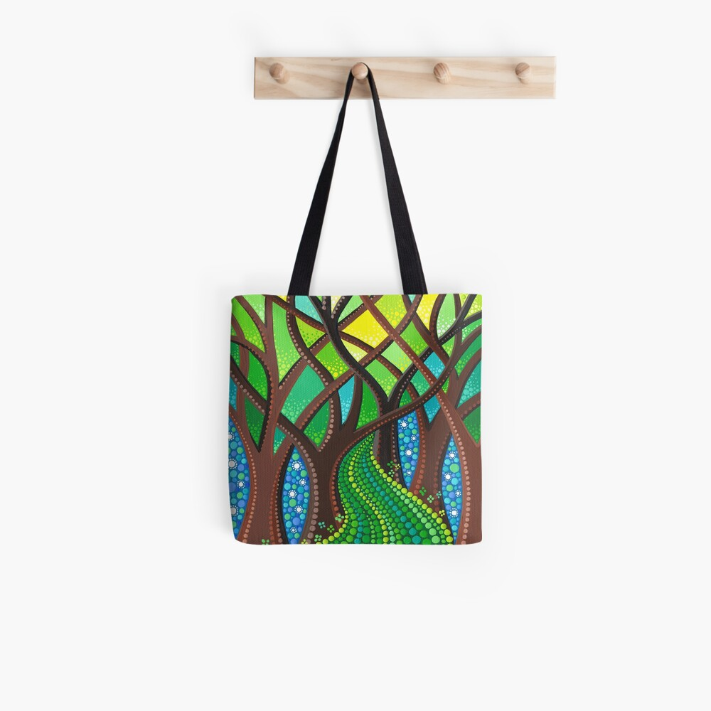 Walk your own Path Tote Bag