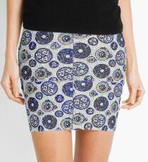 Blue Magic Mini Skirt