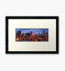 2013 Chicago Blackhawks Skyline Framed Print