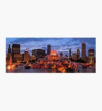 2013 Chicago Blackhawks Skyline Photographic Print