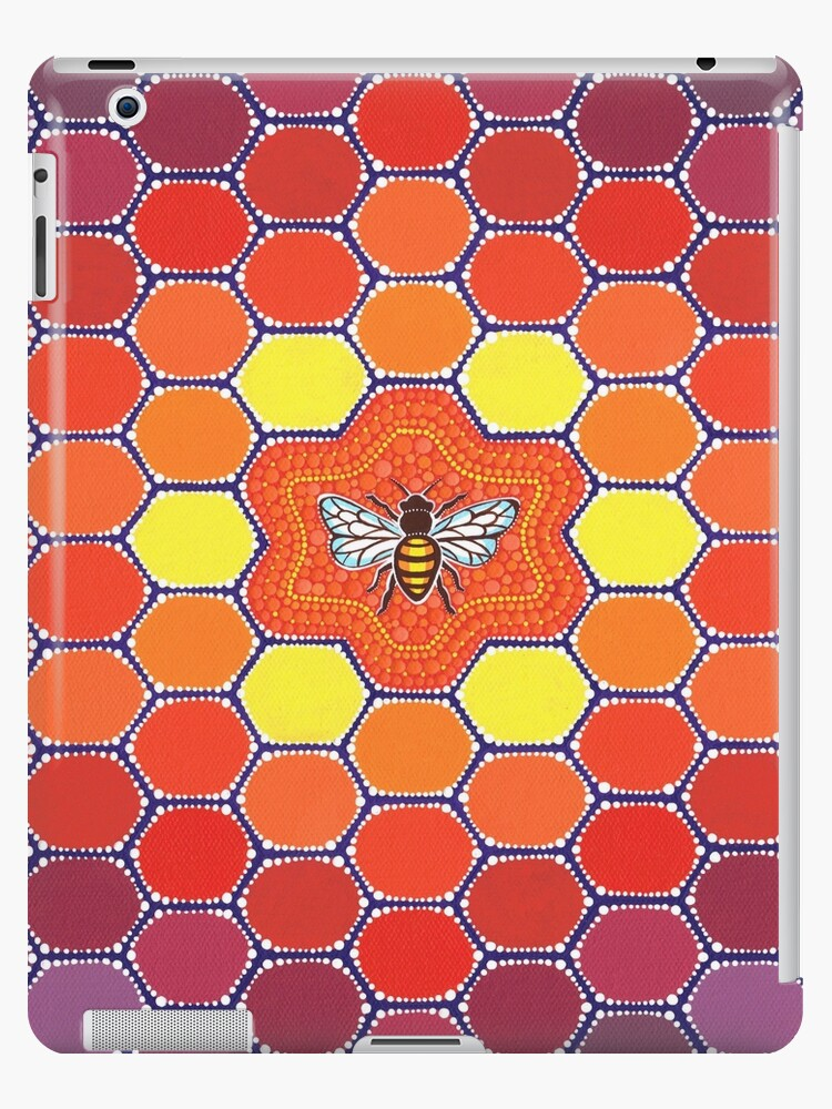 Bee Sacred Geometry by Elspeth McLean