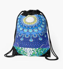Full Moon Splendour Drawstring Bag